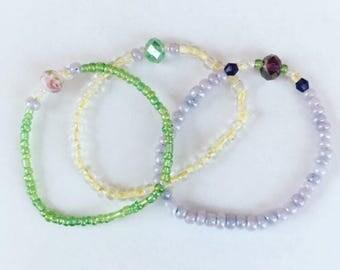 Secret Garden bracelets