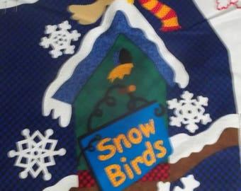 Snowbirds Vest Fabric Panel
