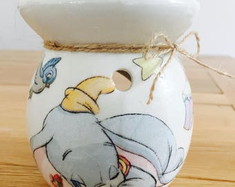 Handmade Dumbo Wax Oil Burner
