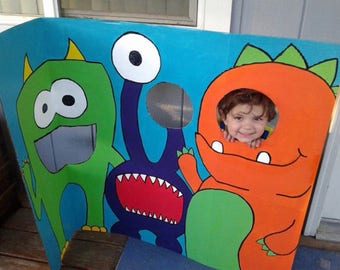 Party booth and feed the monster game