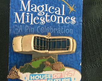 Disney Pin Magical Milestones House of the Future 1957 Retired DLR ~ Rare!!