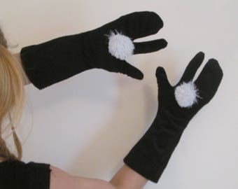 Winter set (haed band, scarf, gloves and leg warmers)