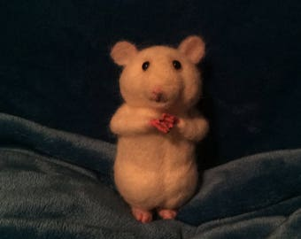 Little white Hamster