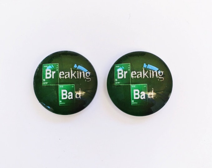The 'Breaking Bad' Glass Earring Studs