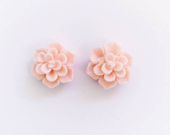 The 'Fleur' Flower Earring Studs