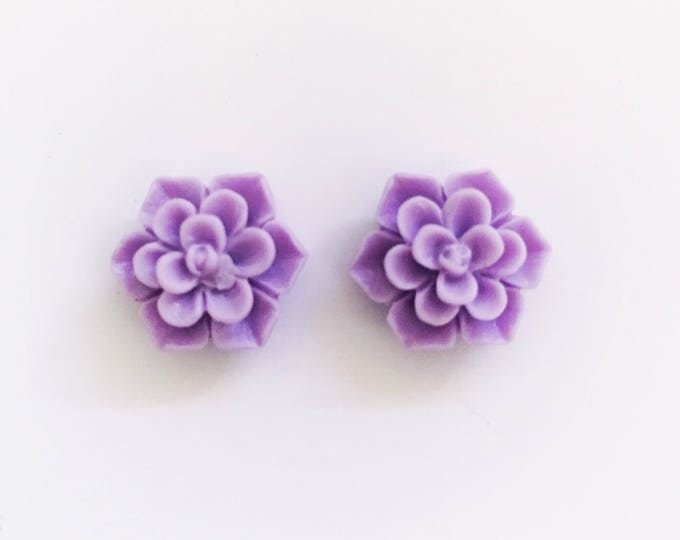 The 'Cleopatra' Flower Earring Studs