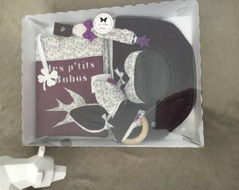 Customizable to order purple and liberty star gift box