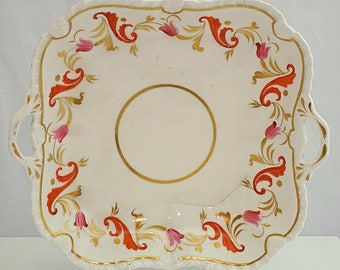 SPODE STAFFORDSHIRE C1815 pattern 2000 hand painted SERVING Dish / Plate
