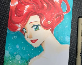 Mermaid Original Art