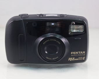 Pentax IQZoom 80-E (with film, batteries, and case)