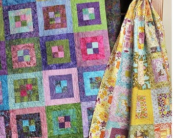 Grape Jam Quilt Pattern by Bits 'n Pieces