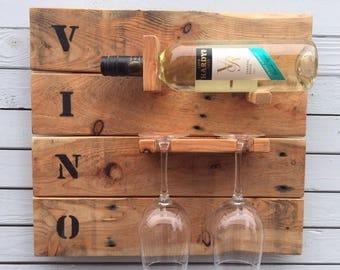 Bottle And Glasses holder