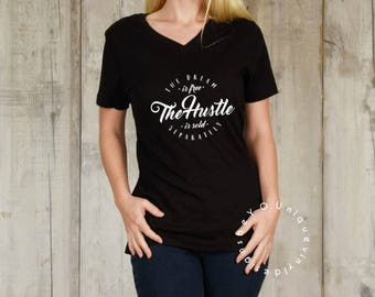 The Dream Is Free the Hustle Sold Separately / Funny Workout Shirt/  Workout Shirt/ Women's Shirt/ yoga shirt/ Gym Shirt