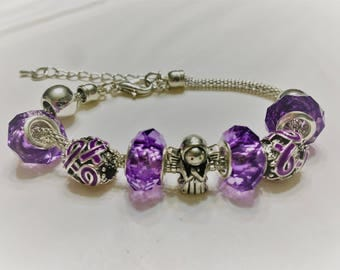 Pancreatic Cancer bracelet