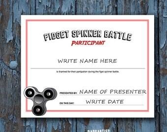 fidget spinner, fidget spinner battle, fidget spinner party, fidget spinner certificate, spinner party, fidget spinner toy, birthday,