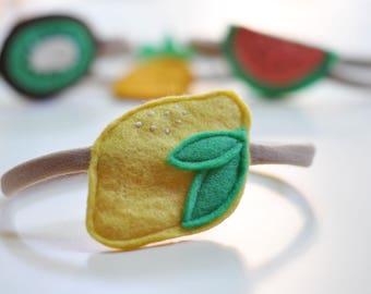 Lemon headband - 1 piece