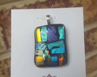 Glass fused Pendant