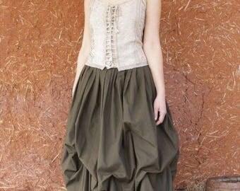 jupe bouffante style elfique, romantique, médiévale   Cape Diem