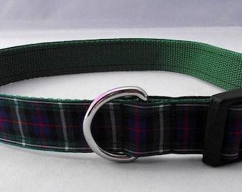 Mackenzie Tartan Dog Collar Uk