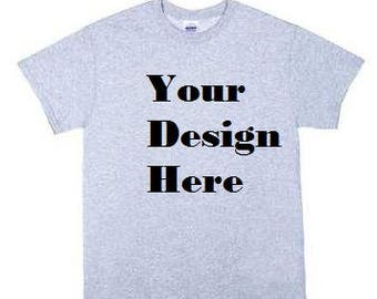 Create Your Own T-shirt Front and Back design