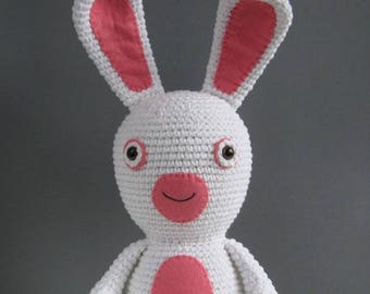 Crocheted Lapin crétin