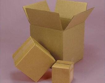 standard RSC corrugated cartons ( 5 boxes ) 9 x 4 x 3