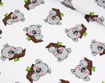 Cotton Fabric, Quilting Print  Fabric,Koala Fabric Fabrics by the Yard-Half Yard