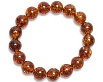 baltic amber bracelet 21gr cognac color Luxamber 琥珀手链