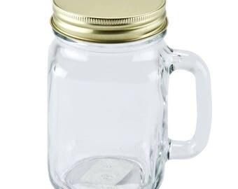 4 PCS Mason Drinking Jar, Mug, Mason Jar, Beer Mug, Party Decor, Wedding Decor, Party, Wedding, Gift, Christmas, Mason Jars, party, wedding