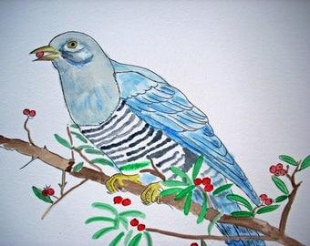 WATERCOLOR BIRD WATERCOLOUR