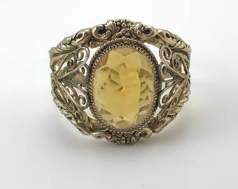 Whiting & Davis Co. Cuff Bracelet