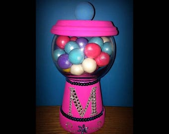 Girls Bubble Gum Jar