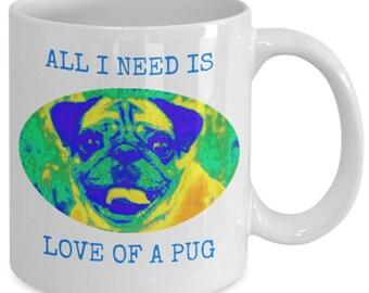 Pug Mug, Pug Coffee Mug, Pug Life, Pug Lover Gift, Mug for Pug Lover, Pugs, Pug Gift, Pug Mom, Pugs, Pug Gift, Pug Lover Gift, Funny Pug Mug