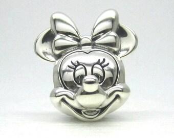 Minnie Portrait Charm/New/Pandora/Disney/Ale/s925