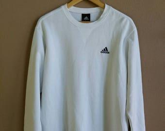 Adidas Equipment sweatshirt sweater jumper pullover small logo