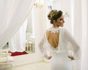 Bridal shrug | Etsy