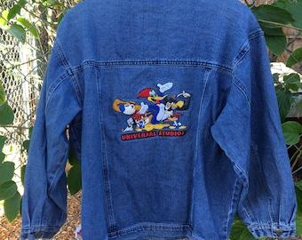 Vintage Universal Studios Denim Jacket