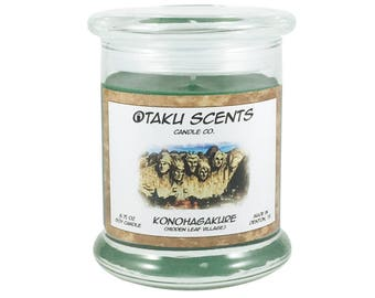 Konohagakure (Hidden Leaf Village) - 8.75 oz Scented Soy Candle - Naruto