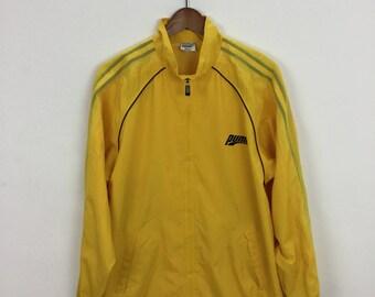 Vintage 90s Puma Windbreaker Jacket Size L Casual Trainer