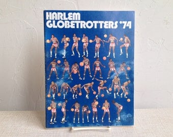 Harlem Globetrotters '74 Yearbook