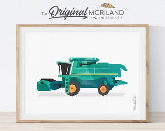 Harvester etsy for International harvester room decor