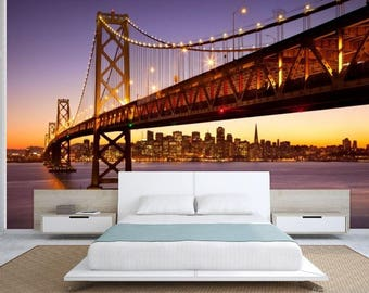 Exceptional Bridge Wallpaper, Bridge Wall Mural, San Francisco Wallpaper, San Francisco  Wall Mural, Part 25
