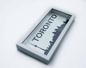 City Skyline Shadow Box | Multiple Cities  & Toronto