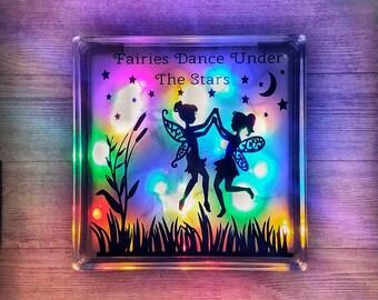 Childrens Decor / Kids Decor / Childrens Room Decor / Gifts For Girls / Gift For Kids / Fairy Gifts / Fairy Decor / Childrens Night Light