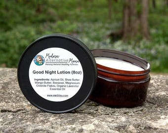 Good Night Lotion (Lavender Magnesium Lotion)