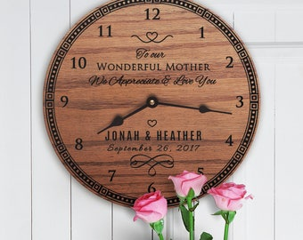 Future Mother in Law Gifts For Wedding - Mother in Law Gifts For Wedding Day - Custom Message - Custom Names - Future Mom In Law Message