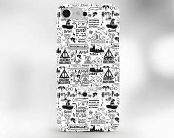 Harry Potter Phone Case Hogwarts iPhone 7 Case Harry Potter case iPhone 6S Case iPhone 7 Plus Case deathly hallows iPhone case cursed child
