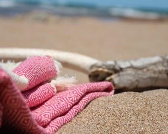 Peshtemals,  turkish%100Cotton, beach Towel,  pink towel, VerySoft, Towel, Beach, Travel towel, natural, Size 170-98