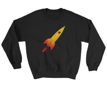 Model Rocket Sweatshirt Scientist Science Universe Rocketry Engineer