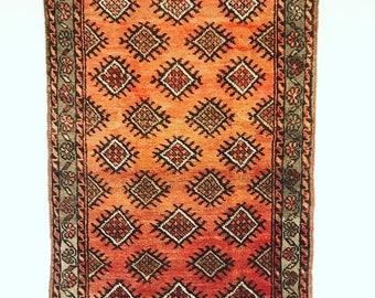 Antique Persian Yalameh Rug